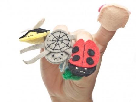 пальчиковые игрушки для развития речи выкройки
