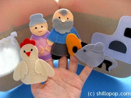 пальчковые игрушки для развития речи выкройки