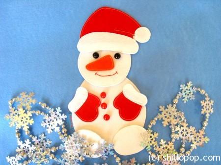 Пазл Снеговик