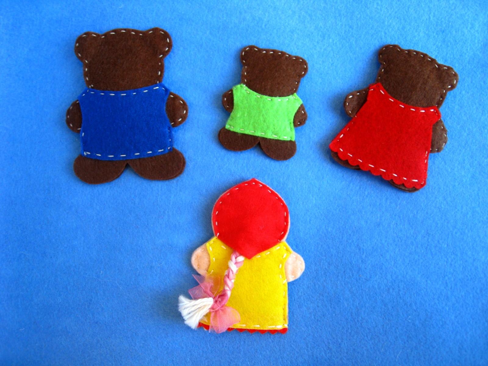 Театр три медведя своими руками
