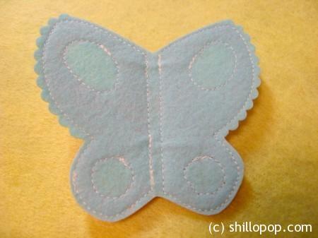 мастер класс бабочка7