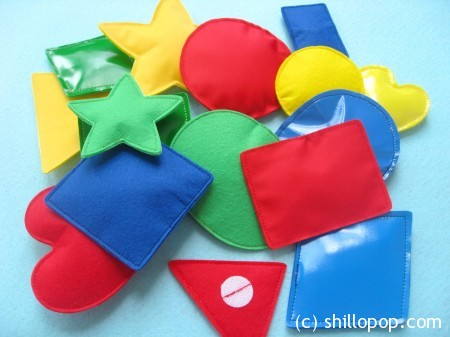 развивающие игрушки из фетра