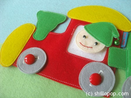 поезд из фетра развивающие игрушки выкройки