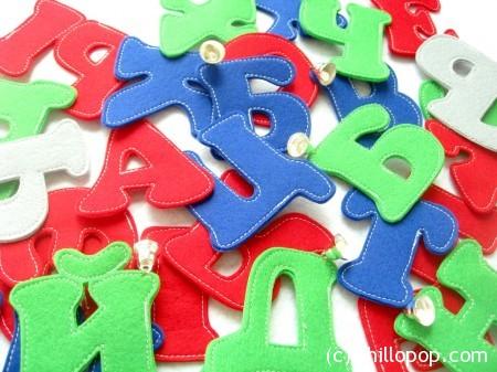выкройки буквы из фетра азбука фетр