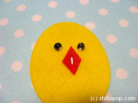 Baby Chick in Eggshells Matching Game How To PDF pattern