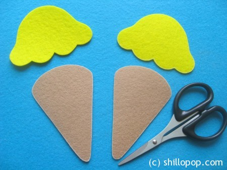 Felt Ice Cream Scoop Sets Tutorial Free PDF Pattern