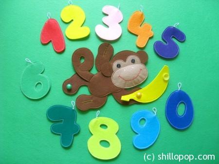 развивающие игрушки математика для малышей фетр