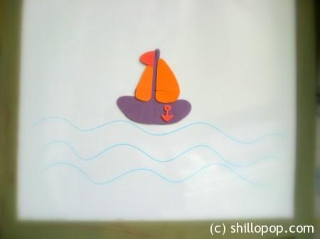 кораблик 1-001