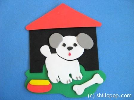 игрушки из пористой резины пазлы