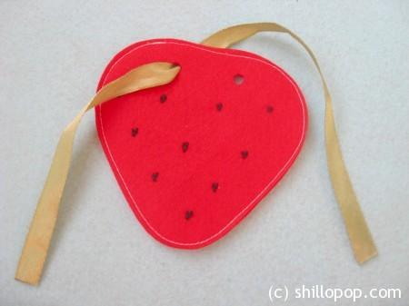 застежки фрукты 6