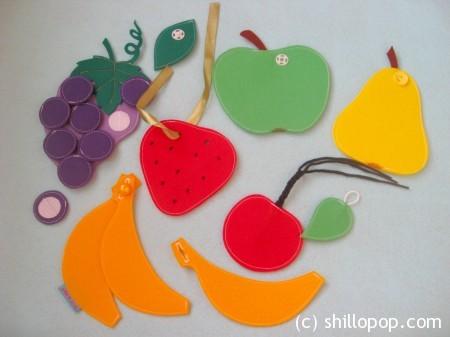 застежки фрукты 8