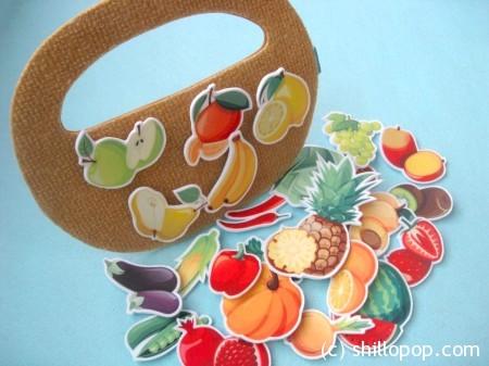 овощи фрукты из фетра на липучке игрушки