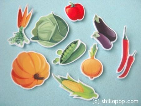 овощи и фрукты из фетра3