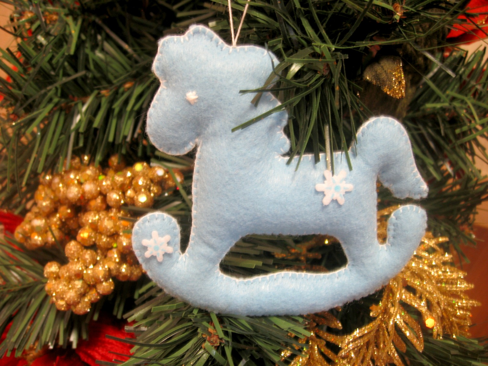 игрушки на елку из фетра лошадка выкройки лошади