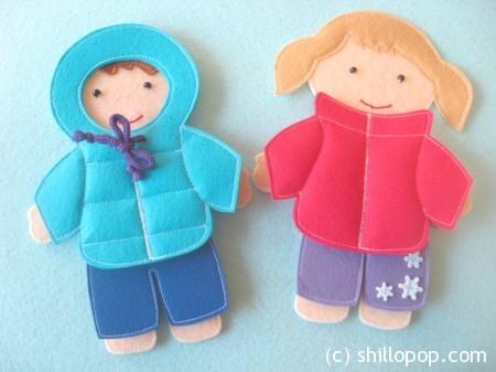 одежда для кукол зима 12