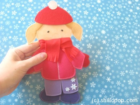одежда для кукол зима 17