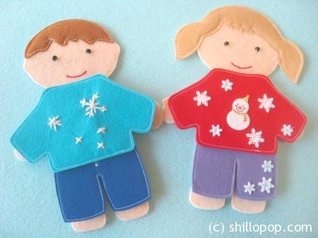 одежда для кукол зима 9