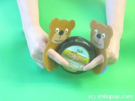 пальчиковая игрушка медвежонок из фетра выкройка