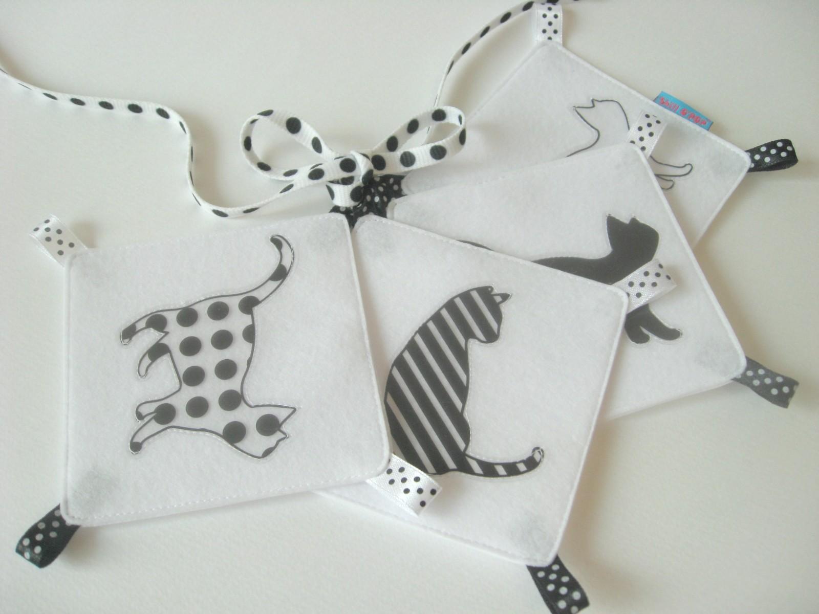 фетр черно белые картинки для малышей своими руками