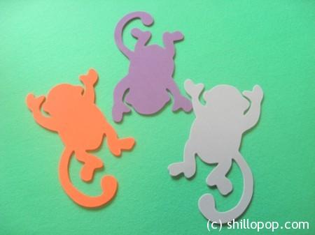 обезьянки поделки из пористой резины