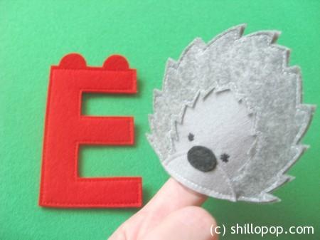 Ежик пальчиковая игрушка Азбука из фетра алфавит выкройки