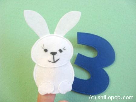 Заяц пальчиковая игрушка Азбука из фетра алфавит выкройки