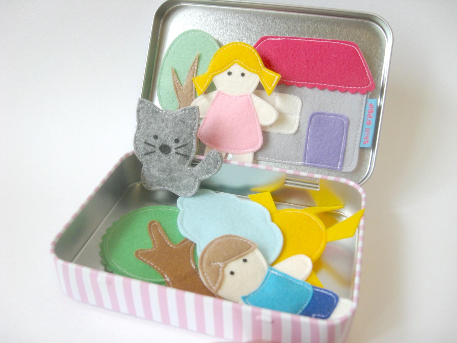 магнитые игрушки из фетра выкройки и мастер-класс по пошиву