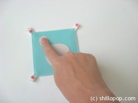 математические карточки счет на пальцах фетр 3