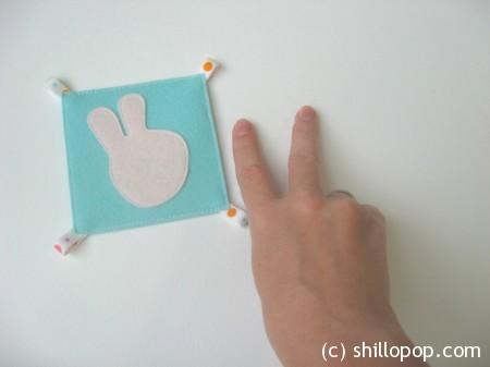 математические карточки счет на пальцах фетр 4