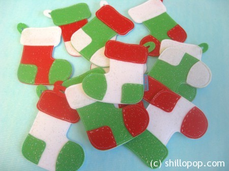 Felt Christmas Stocking Matching and Memory Game Advent Calendar Stocking Garland FREE PDF Pattern