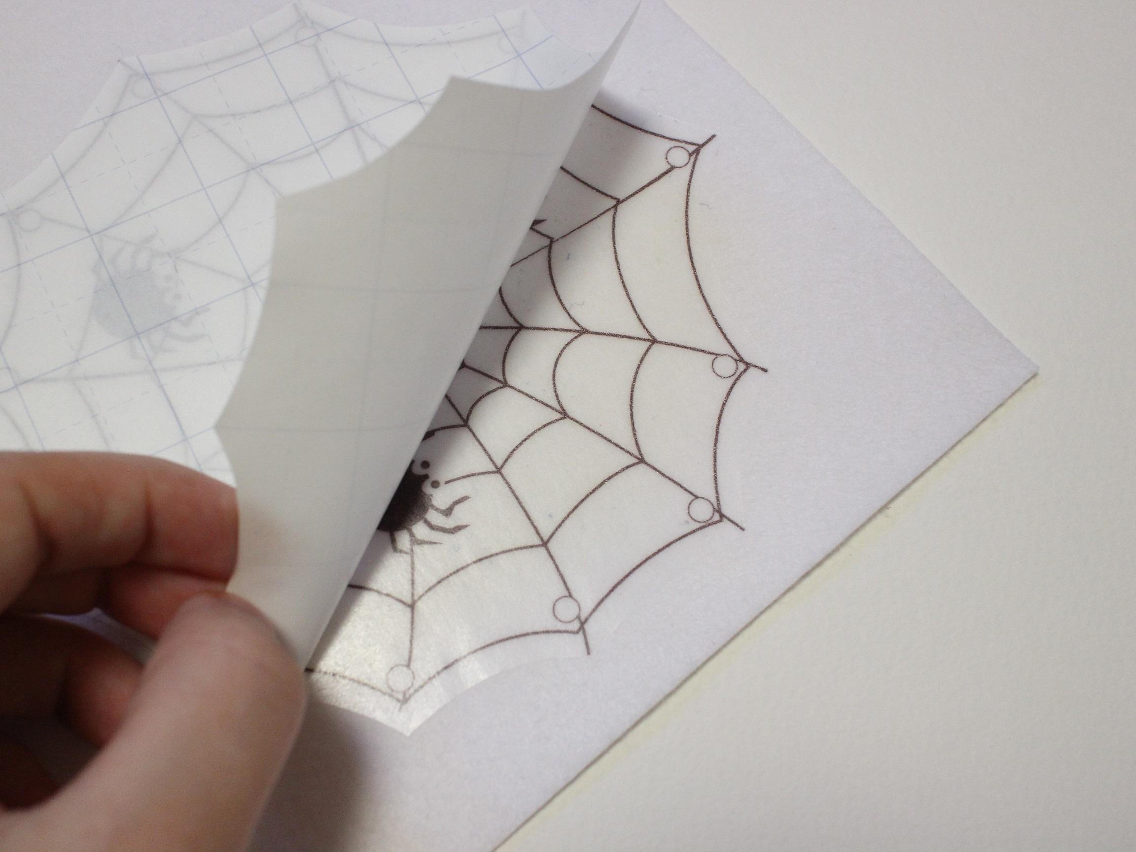 мастер класс рисунок на фетре термотрансферная бумага