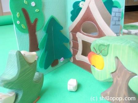 сказка из фетра теремок мастер класс выкройки игрушек