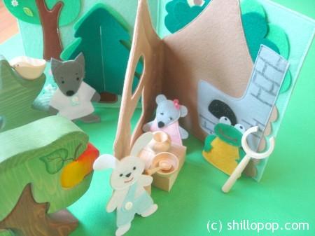 сказка теремок из фетра мастер-класс выкройки игрушек