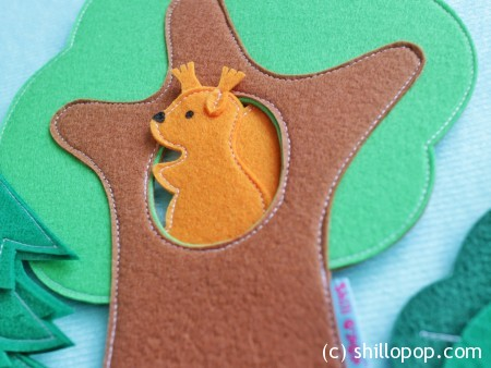 дикие животные игрушки из фетра для ковролинографа выкройки 5
