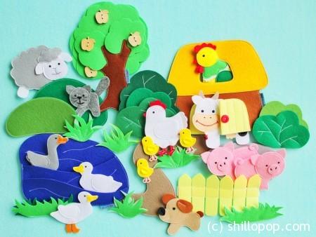 игрушки из фетр