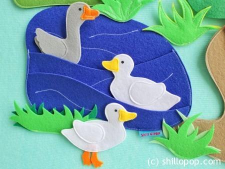 домашние животные игрушки из фетра для ковролинографа выкройки 5