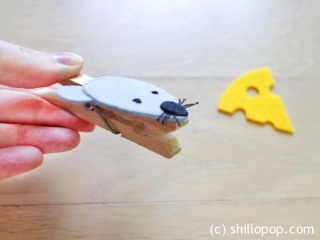 игра с прищепками кто что ест из фетра выкройки 2