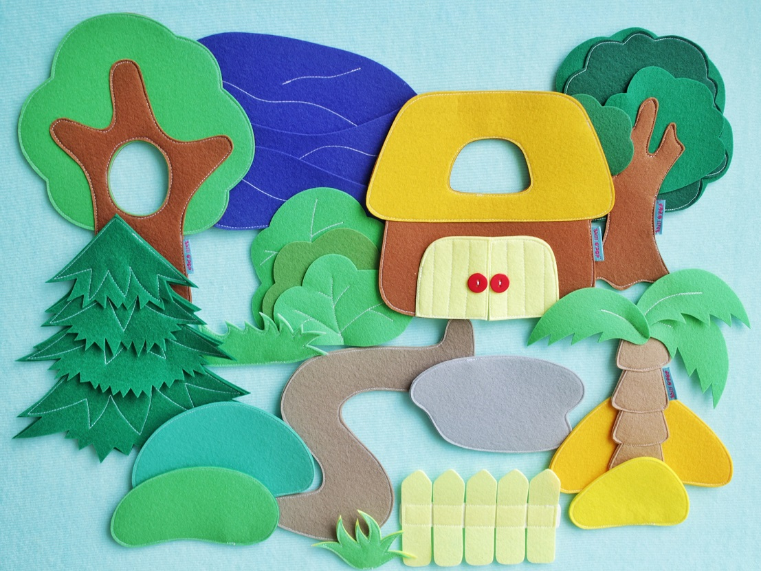 ковролинограф игрушки из фетра выкройки