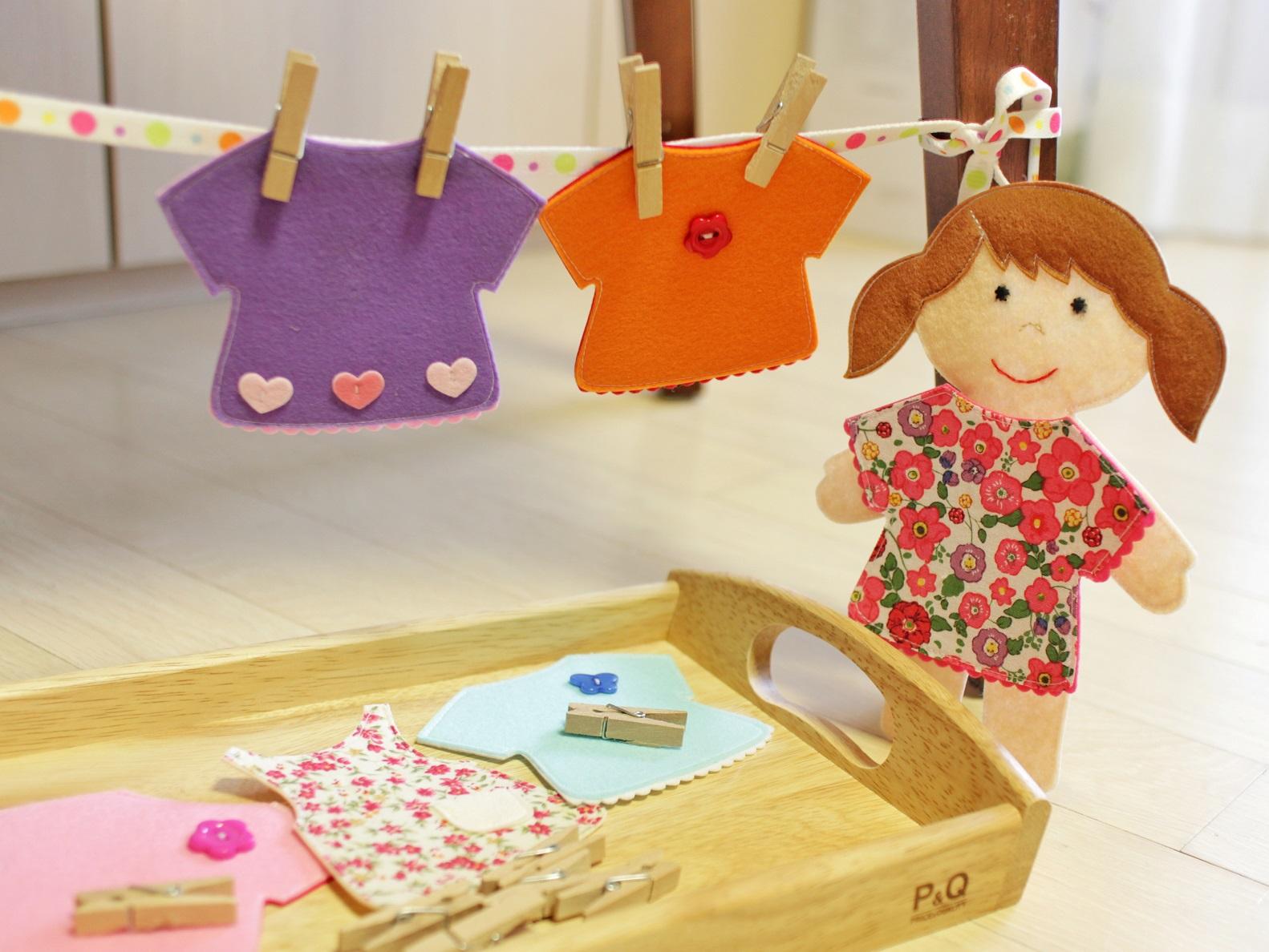 куклы из фетра выкройки одежда для кукол игры с прищепками своими руками выкройки