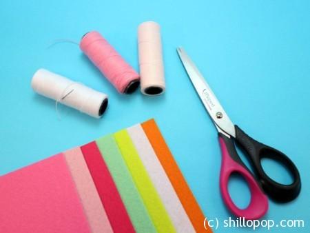 совместный пошив развивающих игрушек из фетра