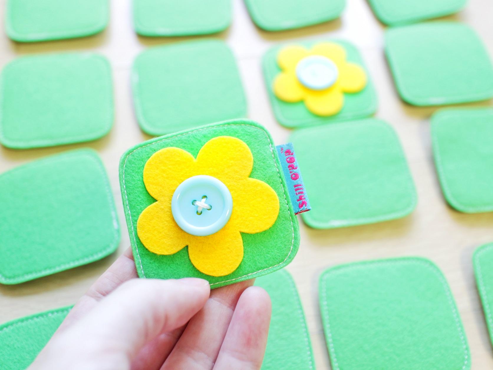 мемори из фетра для малышей развивающие игрушки фетр