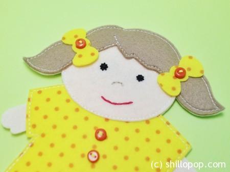шагающая пальчиковая игрушка выкройки развивающих игрушек из фетра 12