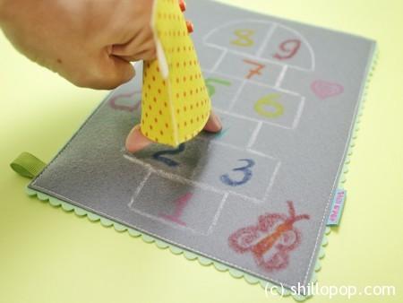 шагающая пальчиковая игрушка выкройки развивающих игрушек из фетра 4