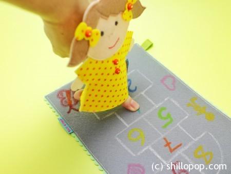 шагающая пальчиковая игрушка выкройки развивающих игрушек из фетра 5