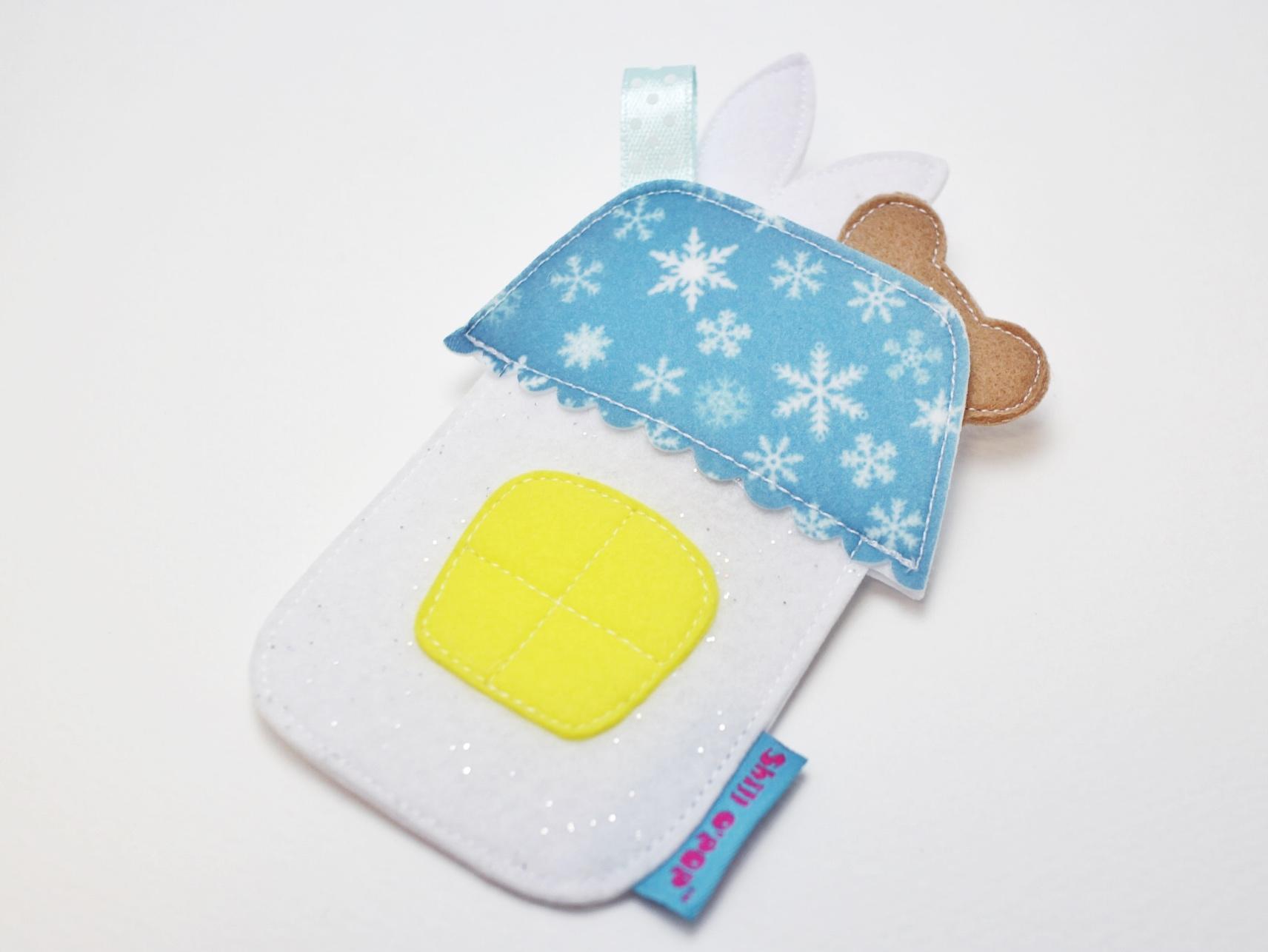 игрушка в кармашек из фетра выкройка