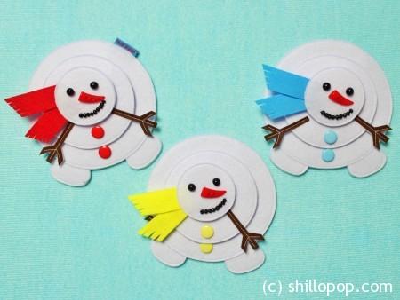 пазл снеговик из фетра с липучками выкройки мастер-класс 3