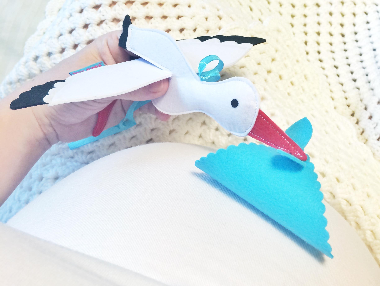игрушки из фетра мастер класс аист мобиль из корейского фетра выкройки