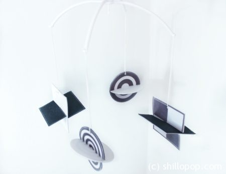 черно-белый мобиль из фетра мастер-класс 10