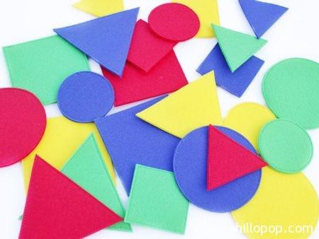 геометрические фигуры из фетра на липучке развивающая книжка выкройки мастер-класс