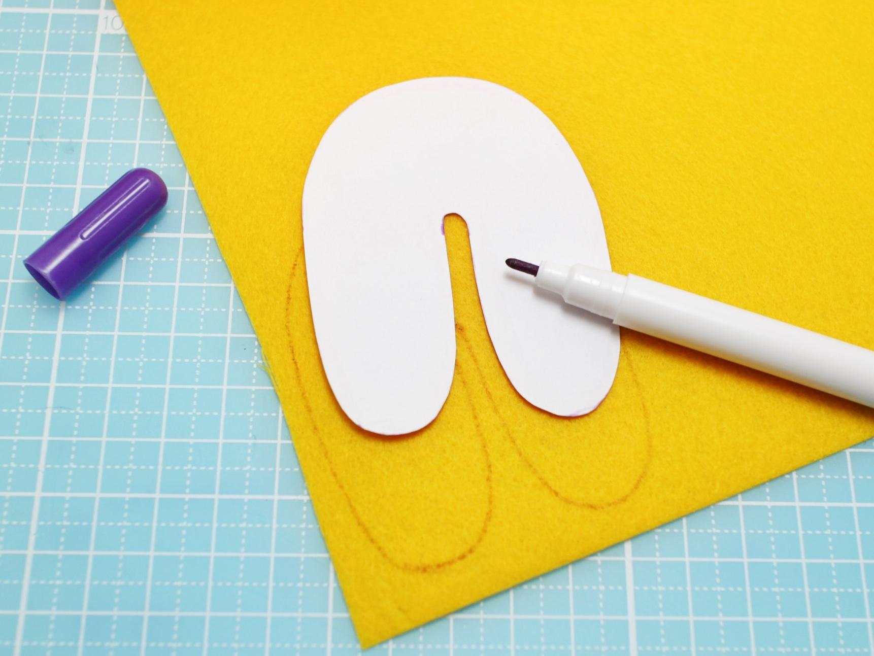 мастер-класс декоративные буквы из фетра выкройки букв и цифр